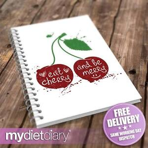 WEIGHT-WATCHERS-COMPATIBLE-FOOD-DIARY-Eat-Cherry-W022W-12wk-journal-tracker