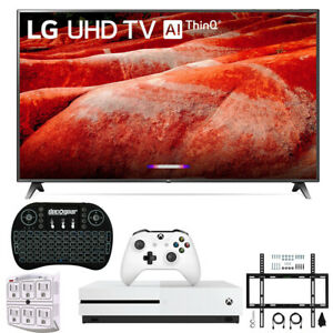 "LG 86UM8070 86"" 4K HDR Smart LED IPS TV AI ThinQ 2019 Model + Xbox One S Bundle"