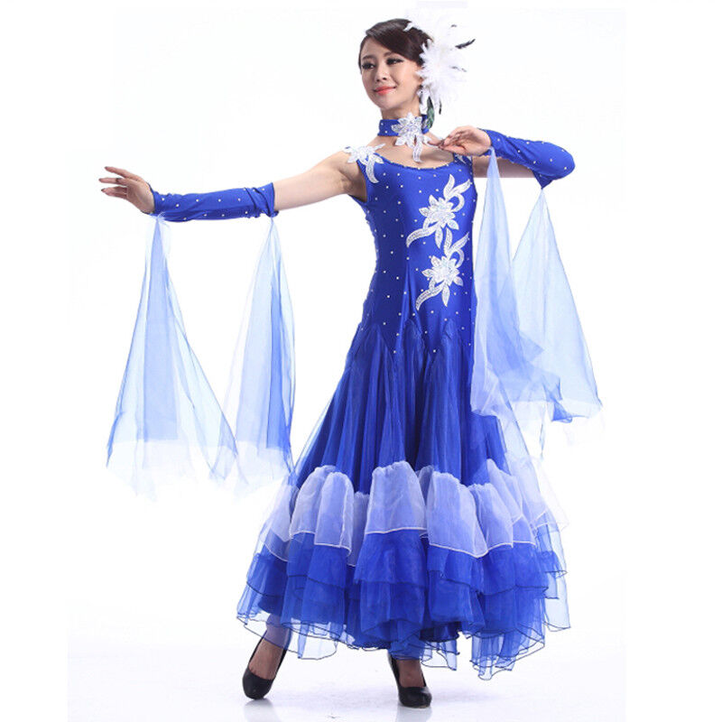 NEU Latino salsa Kleid TanzKleid Standard LatinaKleid Latein Turnierkleid NN010