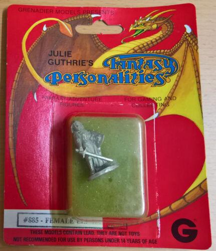Sealed, MiB Grenadier #885 Fantasy Personalities Female Elf Ranger