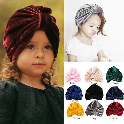 Fashion Newborn Toddler Kids Baby Boy Girl Turban Accessories Headwear Head Band