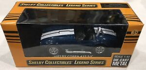 Carroll Shelby Collectibles Legend Series 1:43 Shelby Cobra 427 S//C Die-Cast