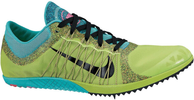 half off 5c88d f91ba Nike Zoom Victory XC 3 Mens Cross Country Running Shoes Spikes Green 12.5