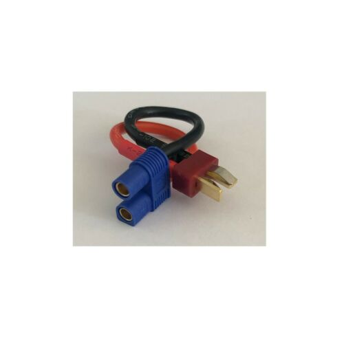 Deans To EC3 Adapter Cable Female and Male Connector Wire Converter UK RC Cables