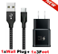 miniature 20 - 3/6/10Ft Fast Charger Type C USB-C Cable For OEM Samsung Galaxy S10 S9 S8 Note 8