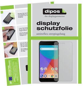 2x-Xiaomi-Mi-A1-Protector-de-Pantalla-protectores-mate-dipos