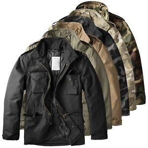 Details zu Trooper Raw Vintage M65 Herren Winter Jacke Fieldjacket Feldjacke 2in1 Parka