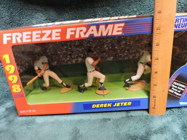 N.Y FREEZE FRAME Loose Starting Lineup Yankees No.3 1998  DEREK JETER