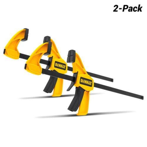 """12/"""" DeWalt DWHT83158 2-Pack 300mm Trigger Bar Clamp Set"""
