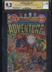 Adventure-Comics-463-CGC-9-2-4x-SS-Len-Wein-Levitz-Staton-Garcia-Lopez