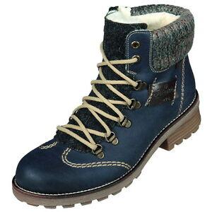 Art Damen Rieker Schuhe 15 Stiefelette Warfutter z0444 Rieker Neu tex rYB5w5Hgq