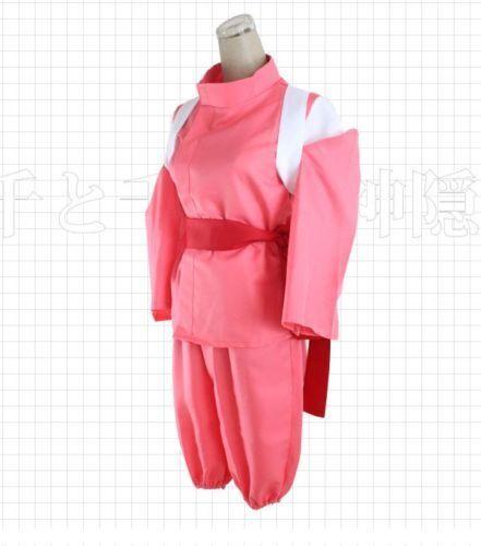 Miyazaki Hayao Spirited Away Chihiro Ogino Sen Costume Kimono Xl F S From Japan For Sale Online Ebay