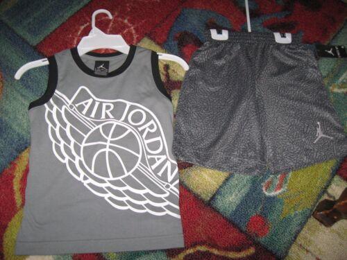 AIR JORDAN or NIKE  Boys 2 Piece Shirt//Short Set Size 12M-6X,Plystr//cotn
