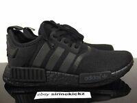 Adidas NMD Triple Black on Black S31508 Limited Edition Men Sizes - boost sole