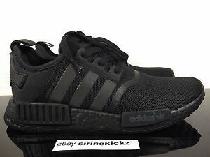 reputable site 622c0 e7bfb adidas nmd all black