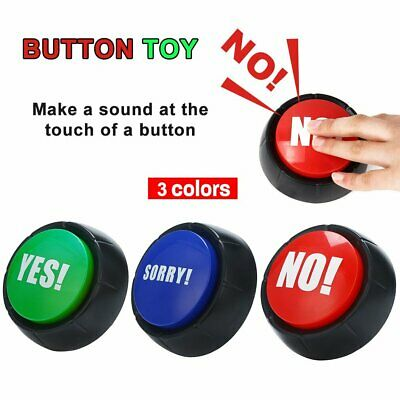 Funny Button Alarm Button Talking Button Sound Button Funny Office Gifts