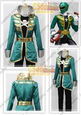 Kaizoku Sentai Gokaiger Gokai Green cosplay costume