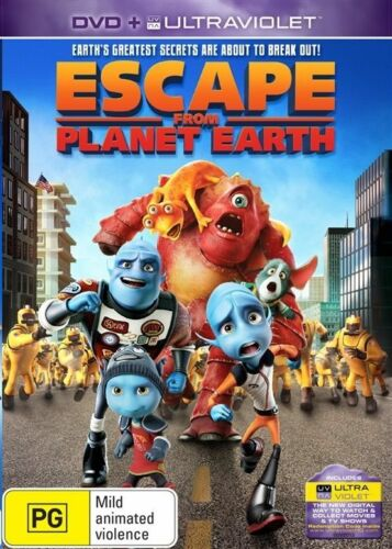 1 of 1 - Escape From Planet Earth (DVD Region 4)