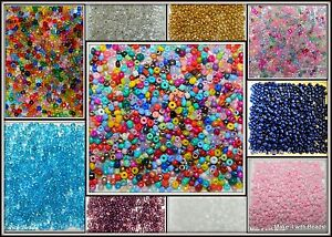 400-2mm-2-5mm-Size-11-0-Glass-Seed-Beads-U-Pic-Red-Blue-White-Green-Purple