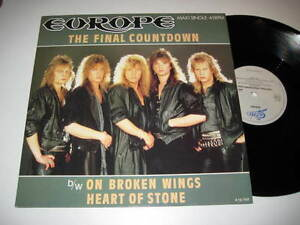 12-034-MaxiSingle-EUROPE-THE-FINAL-COUNTDOWN-epic-12-7127-MINT