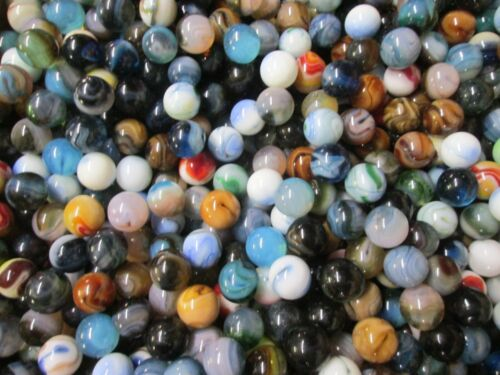 2 LBS 5//8 INCH Jabo Marbles Mixed Lots Free Shipping