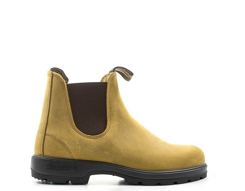 shoes blueNDSTONE Homme yellow Cuir naturel 561-U