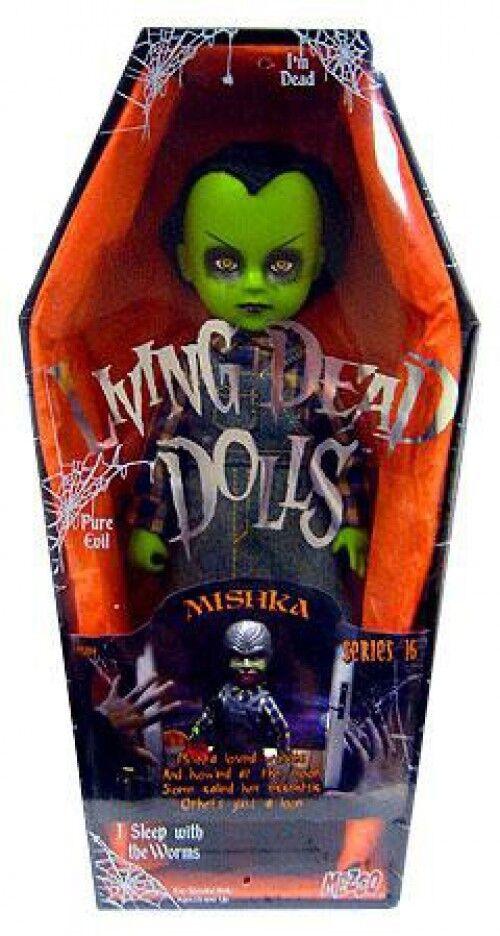 Living Dead Dolls Serie 16 Mishka Muñeca