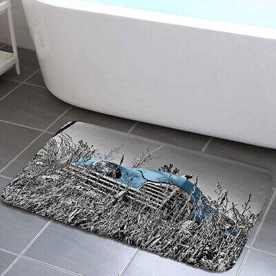 Bath mat,Old American Flag Background,Non Slip Bathroom Rug Carpet