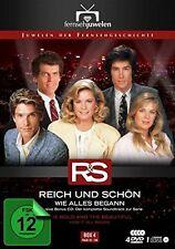 Reich und Schön - Box / Staffel 4: Wie alles begann, 4 x DVD + 1 x CD NEU + OVP!