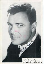 ROBERT STERLING ACTOR IN TOPPER THE TWILIGHT ZONE HOTEL SIGNED PHOTO AUTOGRAPH