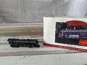 Hallmark 700E Hudson Steam Locomotive Lionel train ornament 1996 Xmas tree New