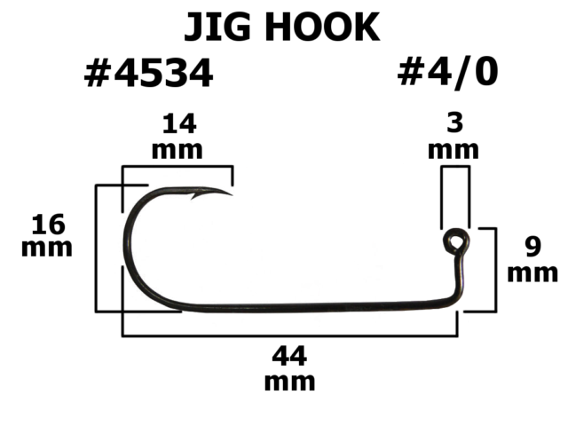 Jighaken Jigkopf 20g in den Größen 6//0-12//0 Mustad Jig Head Big Game Haken