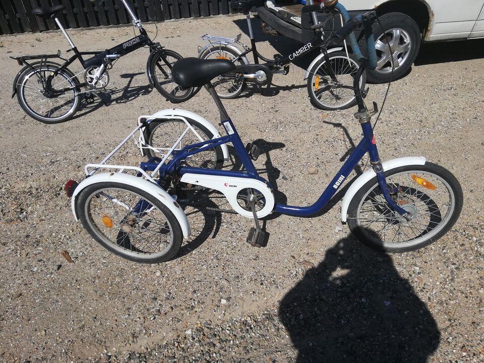 Handicapcykel, BOMI TREHJULET, 3 gear