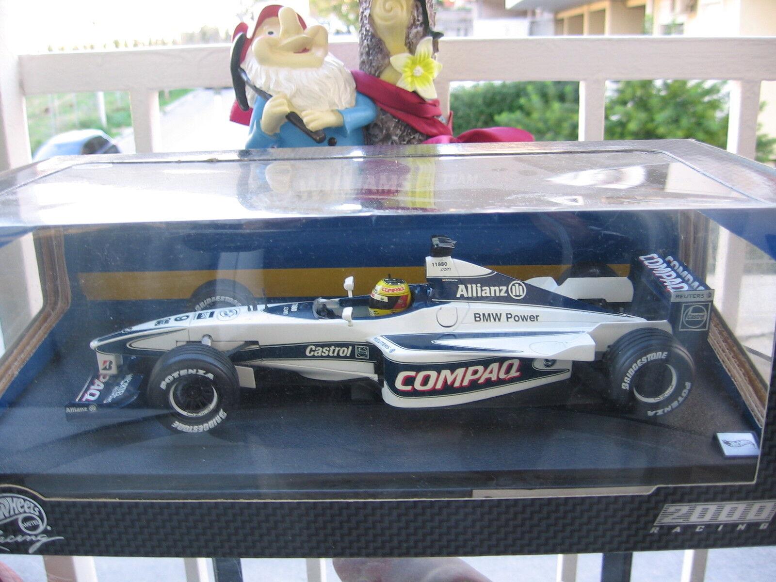 F1 Williams Williams Williams BMW FW 22 2000 Ralf SCHUMACHER 1 18 NEU   MINT 18efca
