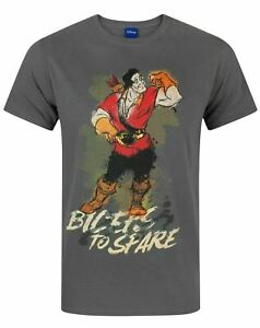 Disney-Beauty-And-The-Beast-Gaston-Men-039-s-T-Shirt