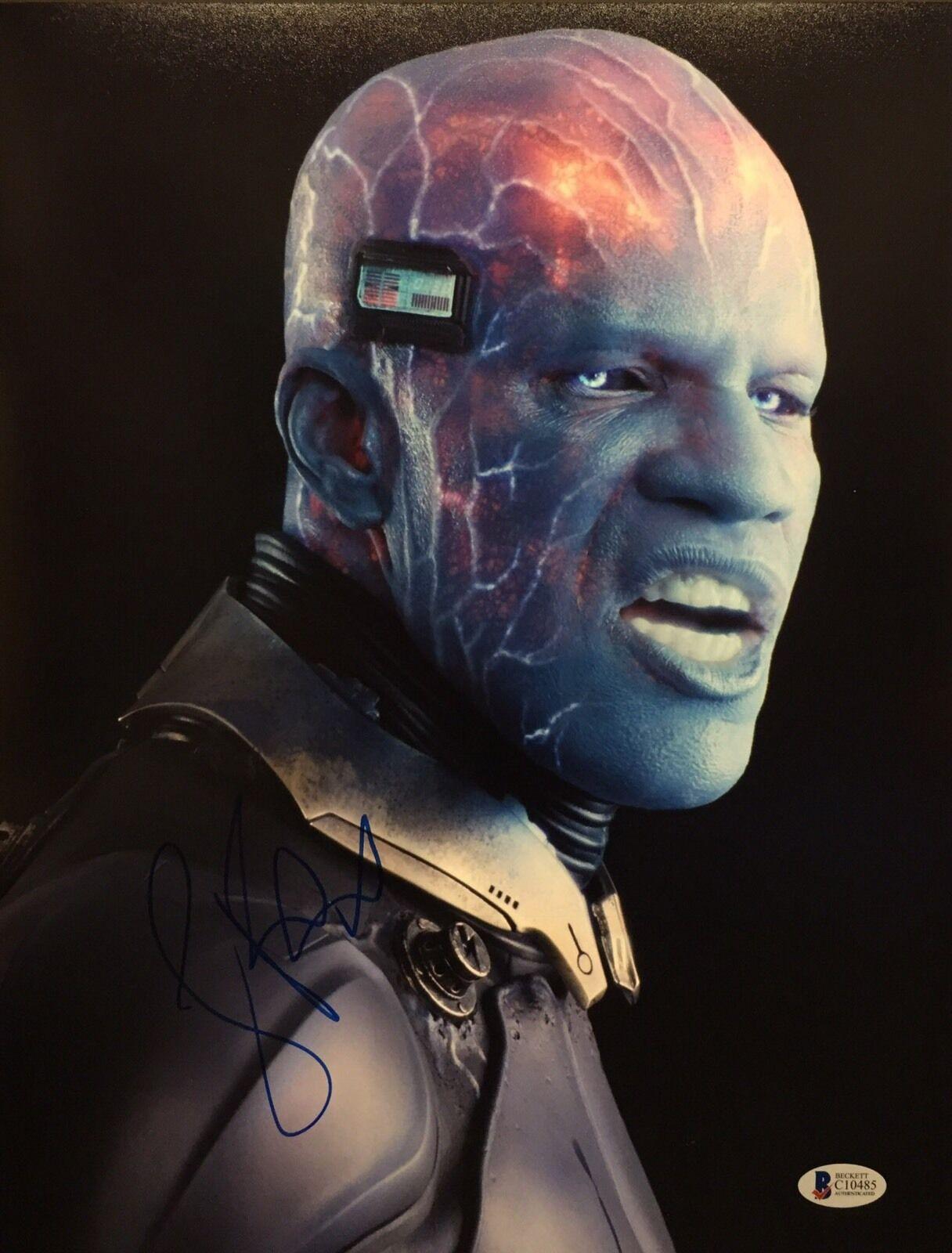 Jamie Foxx Signed The Amazing Spiderman 2 11x14 Photo Electro Beckett BAS C10485