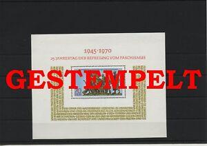 Germany-GDR-vintage-yearset-1970-Mi-Block-32-Postmarked-Used-More-See-Shop