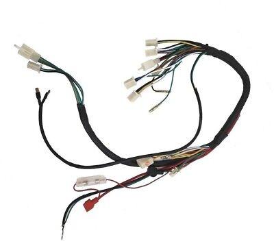 atv wiring harness 50 70 90 110 125 cc quad four wheeler taotao vento wildfire ebay Chopper Wiring Harness