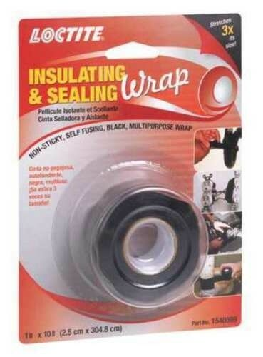 Black New Inbox LOCTITE 1540599 Insulating and Sealing Wrap 2 PACK