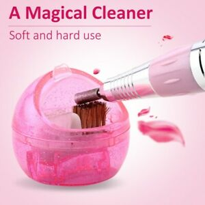 Cleaning-Brush-Nail-Art-Equipment-Manicure-Accessories-Portable-Cleaner-Box