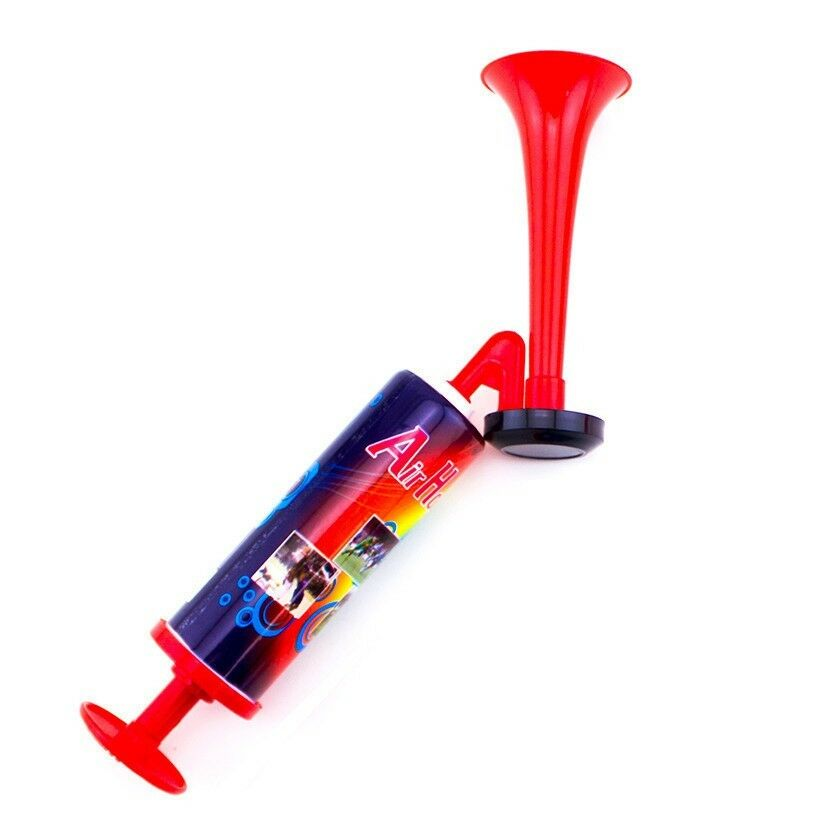 Hand Held Small Air Horn Pump Loud Noise Maker Safety Parties Sports Events
