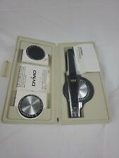 Dymo 1570 Deluxe Tapewriter Kit Label Maker Bundle