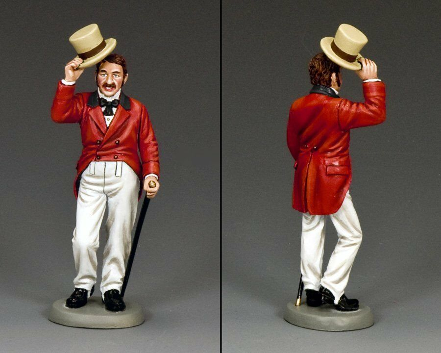 KING AND COUNTRY Dickens - Curiosity Shop- Mr. Chuckster Chuckster WoD013 Painted Metal