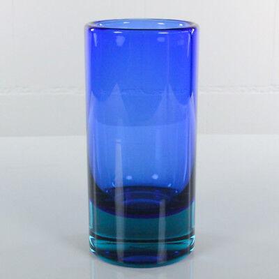 Vase Mario Pinzoni für Seguso 60er Jahre Murano Glas H. 20,7cm D. 10cm, vintage