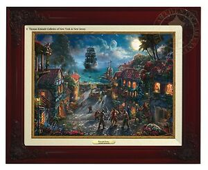 Thomas Kinkade Studios Pirates Of The Caribbean Canvas Classic