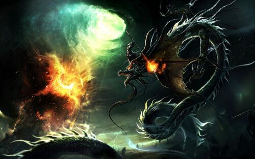 Best gift Home Decor Canvas Print Painting Wall Art Dragon Ball Super Shenlong