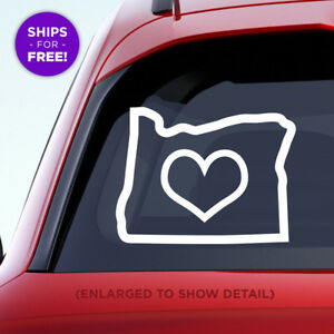 Oregon-state-vinyl-decal-with-outlined-large-heart-in-the-middle-of-the-sticker