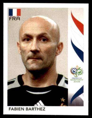 456 Panini WORLD CUP 2006-Fabien Barthez Francia no