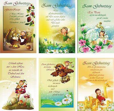 51-5802 Geburtstagskarten Geburtstagskarte Glückwunschkarten Grußkarten