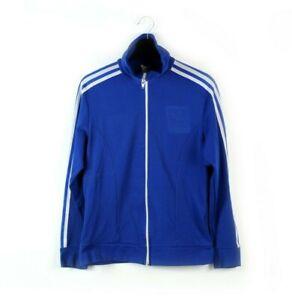 80s vintage adidas Originals track jacket trefoil 3 Stripes Hong Kong 5 S M L